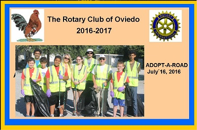 Adopt A Road Effort - July 2016